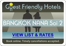 Guest Friendly Hotels Soi 2 Sukhumvit