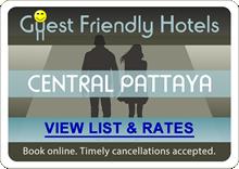 Guest Friendly Hotels Walking Street Central Pattaya